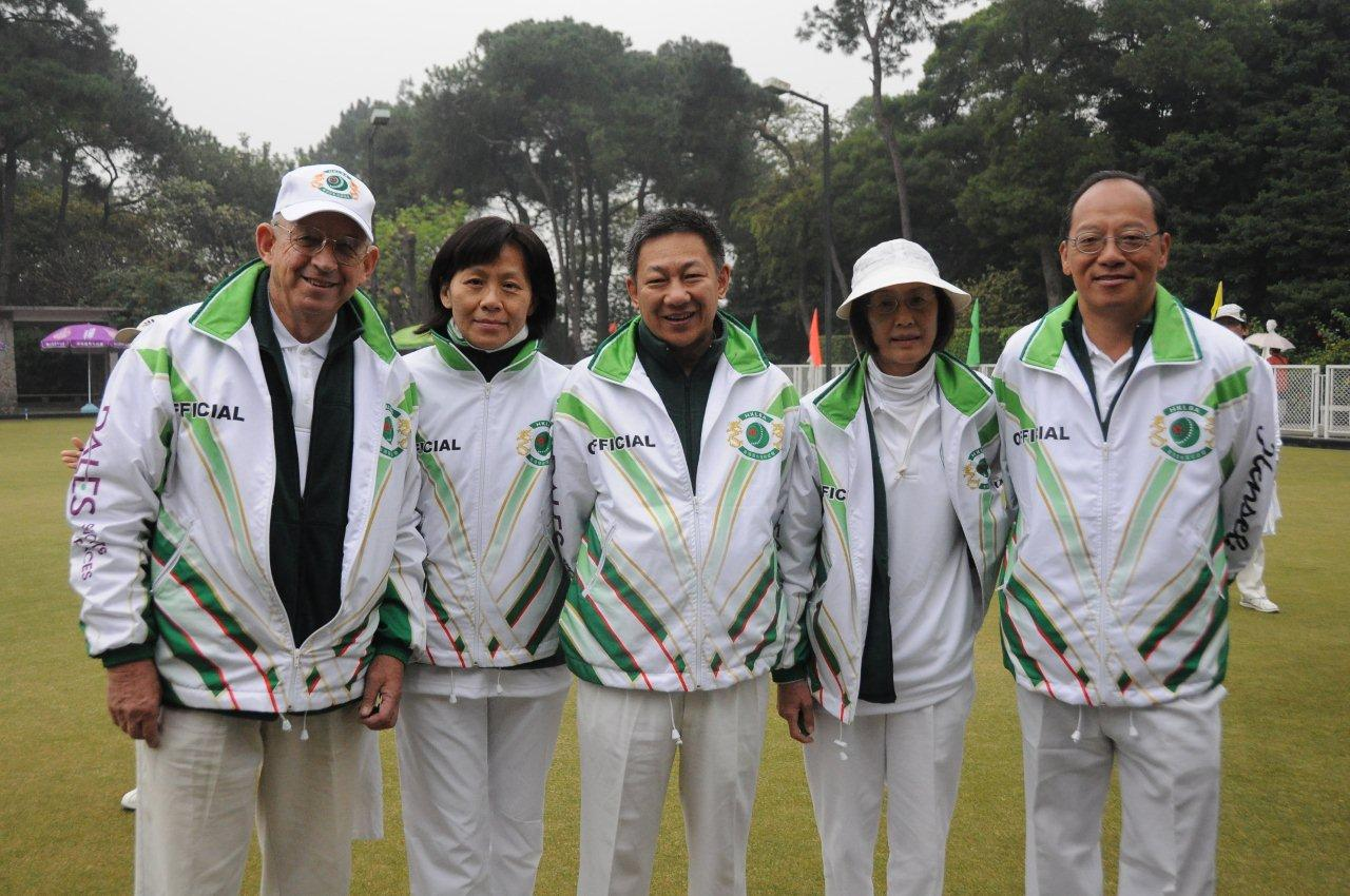 HKLBA team in Hua Sui Cup Guangzhou tournament